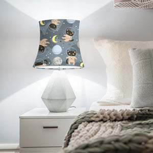 Space Cats Drum Lamp Shade