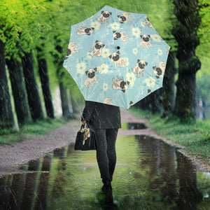 Lovely Pugs Umbrellas