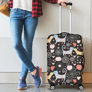 Lovely Cats Luggage Covers