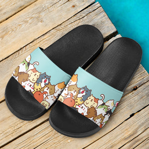 Cute Cats Slide Sandals