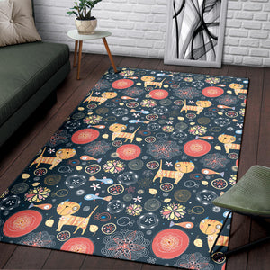 Lovely Cats Area Rug