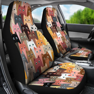 Cute Cats Car Seat Covers