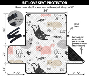 Cool Cats Sofa Protector
