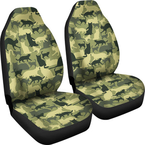 Cat Camouflage Car Seat Covers