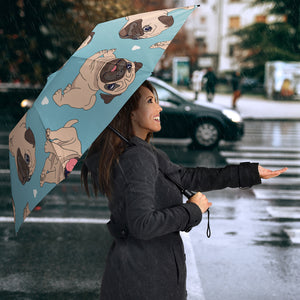 Cute Pugs Umbrellas