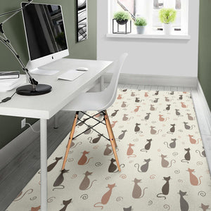 Cute Cats Area Rug