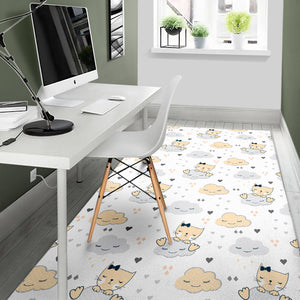 Cat Cloud Area Rug