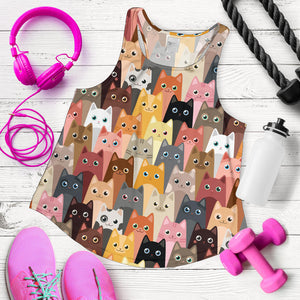 Cute Cats Women's Racerback Tank