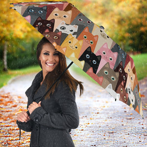 Cute Cats Umbrellas