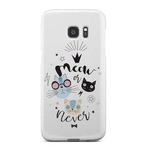 Meow or Never Phone Case