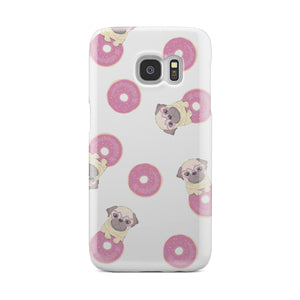 Pug Donuts Phone Case