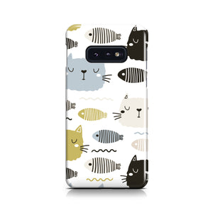 Cats and Fishes Phone Case
