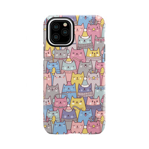 Cute Cats Tough Case