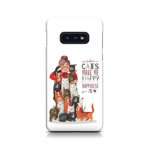 Cats Make Me Happy Phone Case