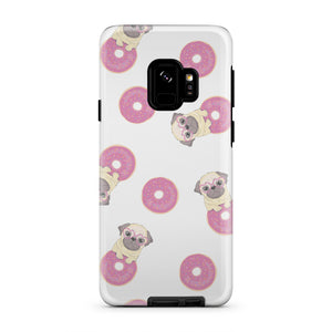 Pug Donuts Tough Case