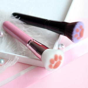 Cute Cat Paw Makeup Brushes