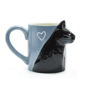 2 Pieces Luxury Kissing Cats Mugs