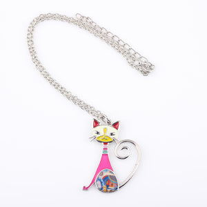 Lovely Cat Women Necklace - Pets Lovers Store