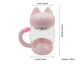 Cute Cat Glass Mug With Filter Coffee Tea - Pets Lovers Store