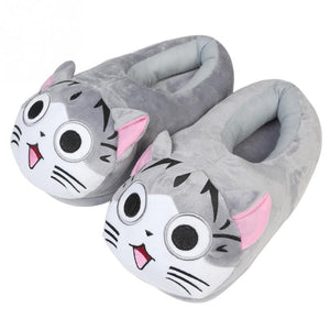 Cute Cartoon Cat Slippers