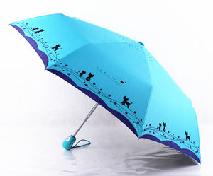 Cute Cat Umbrella - Pets Lovers Store