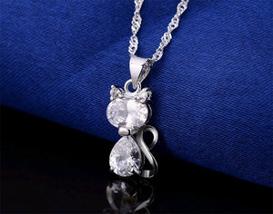 Akemi Platinum Necklace - Pets Lovers Store