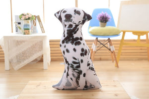 3D Printed Dog Cushion Pillow - Pets Lovers Store