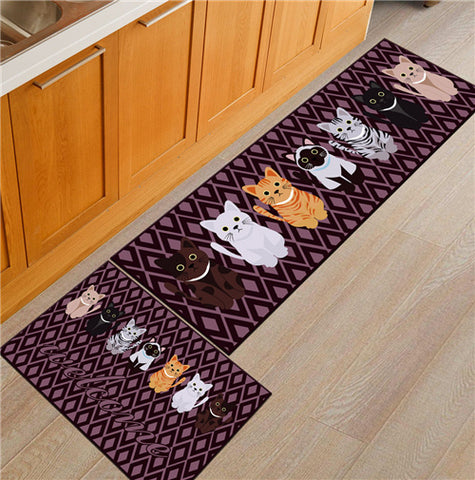 Cute Cat Floor Mat Door Mat