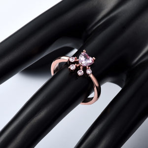 Cute Cat Paw Adjustable Ring