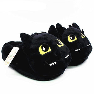 Unisex How to Train Your Dragon Style Plush Slippers