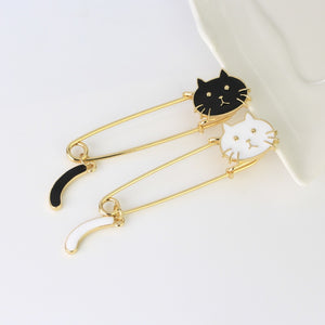 Cute Cat Pins Brooch Cats Badge