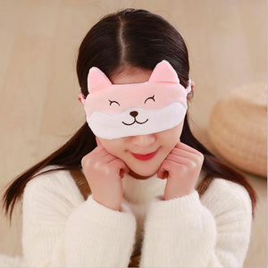 Cute Corgi Sleeping Eye Mask