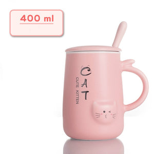 Cute Cat Cafe Coffee Mug