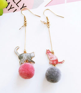 Cute Cats Earrings