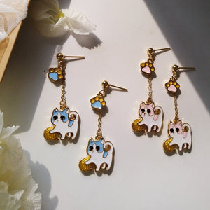 Cute Cartoon Cats Earrings