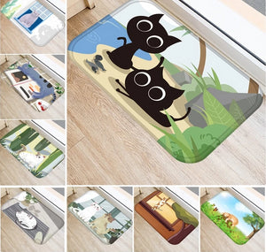 Creative Cartoon Cat Door Mat