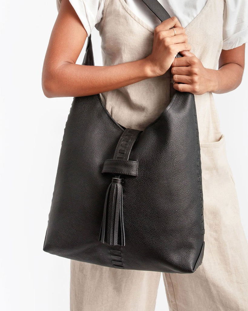 Hobo Bag - Black - Liberté