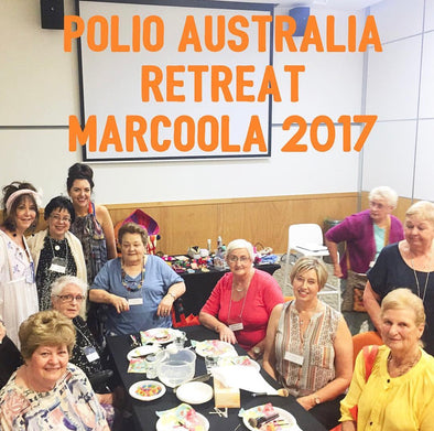 Supported: Polio Australia Retreat Marcoola 2017