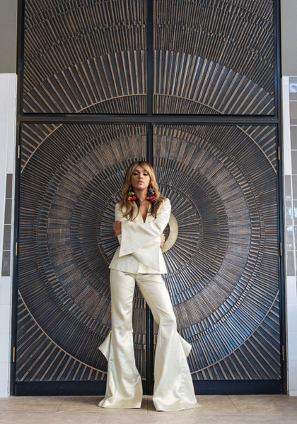 Fashion Weekly Melody Thornton Cover Shoot