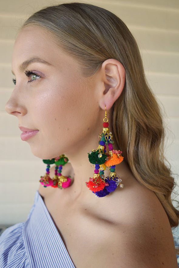 Spectacular Spectacular Poms Earrings