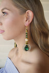 Kryptonite Imperial Empress Earrings