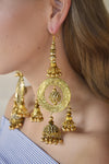 Vogue Gold Shoulder Grazing - Imperial Empress Earring Collection