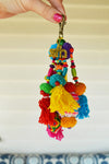 Pom Pom & Pillows Key Ring