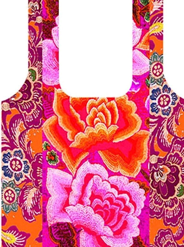 Mexican Rose Fold Up Shopping Bag