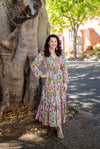 Pink Wattle Dress - Custom Design by SFH