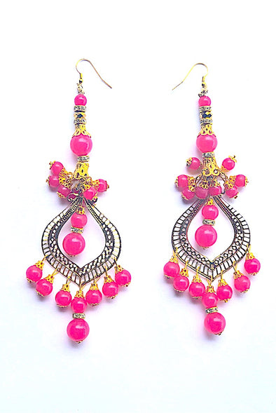 Magnificent Garnet - Gorgeous Glamour Earring Collection