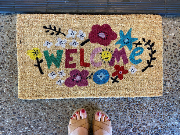 Welcome - Coir Doormat