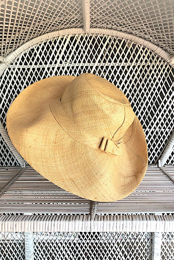 Made in Madagascar Hat - French Natural Small