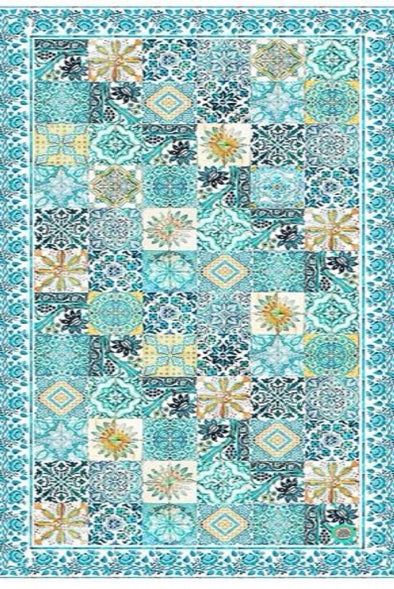 Sicilia Table Cloth - Anna Chandler Design