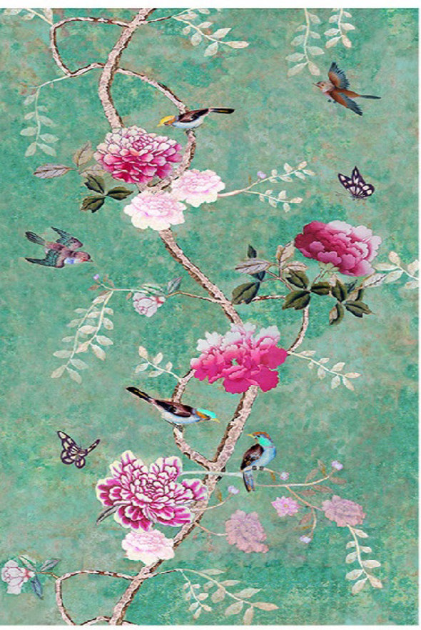 Chinoiserie Tablecloth - Anna Chandler Design